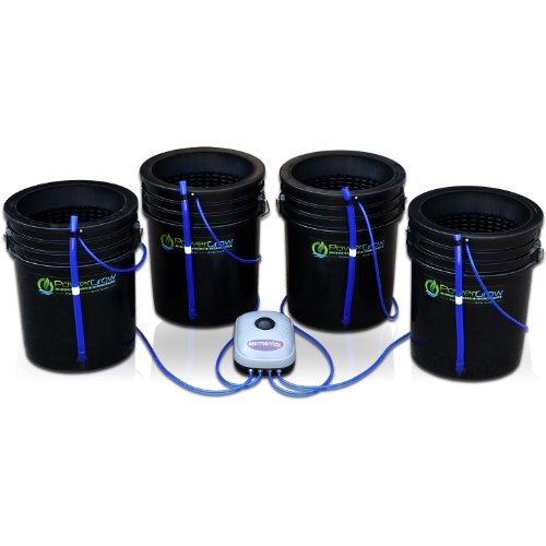 Hydroponic Bubbler Kit 4 Bucket