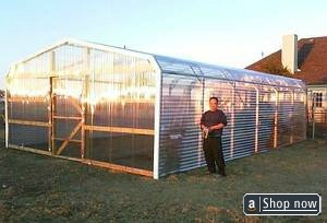 Greenhouse Kit 18' by 24'