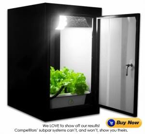 Indoor Home Hydroponic grow closet