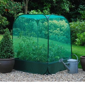 Raised Greenhouse Grow Bed