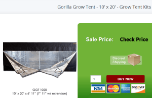 Gorilla Grow Tent Kit