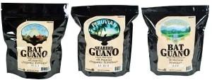 Seabird guano fertilizer