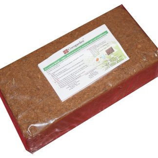 Cocogarden Cocopeat Brick - Expands To 3.5 Kg Powder by cocogarden