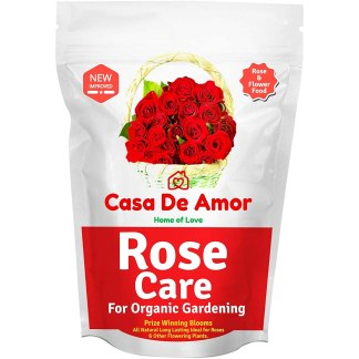 Casa De Amor Rose Care Special Organic Fertilizer for Rose Plants-2 KG