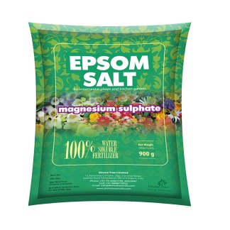 DIVINE TREE Epsom Salt Magnesium Sulfate for Speed Up Plant Growth Vegetables & Plants Nutrient - 900 Gm Visit the DIVINE TREE Store
