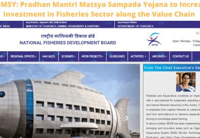 PMMSY: Pradhan Mantri Matsya Sampada Yojana to Increase Investment in Fisheries Sector along the Value Chain