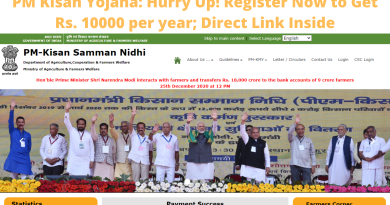 PM Kisan Yojana: Hurry Up! Register Now to Get Rs. 10000 per year; Direct Link Inside