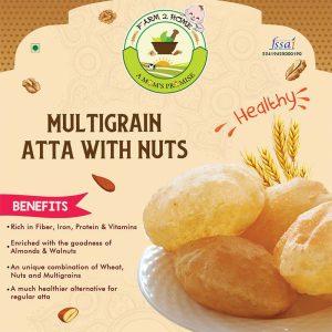 MULTIGRAIN ATTA WITH NUTS