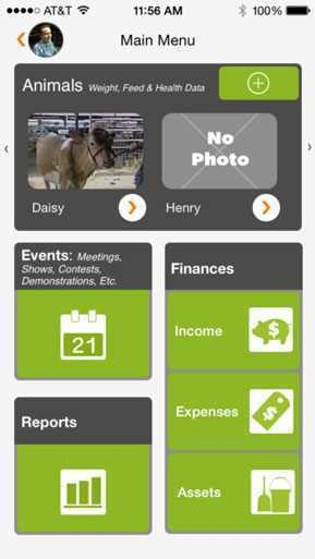 4 H Livestock Record Agriculture Apps Farms Com