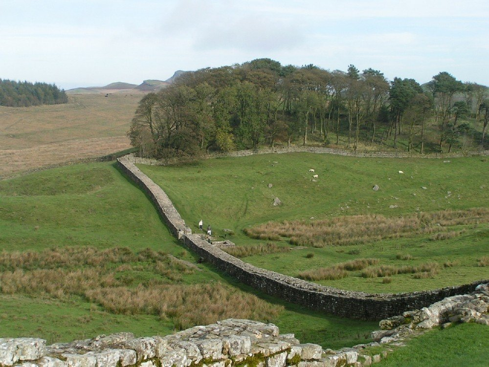 Hadrians-wall, farm tourism in Northumberland, U.K.