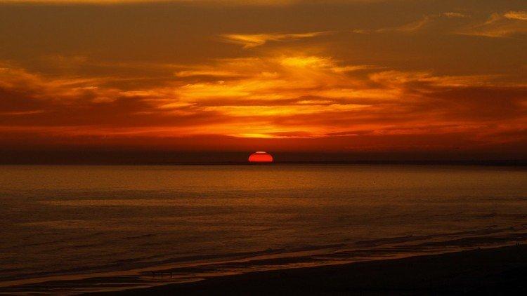 sunset, farmstay algarve, portugal