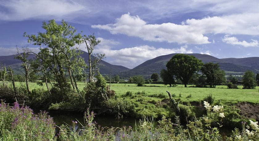 View from Ballyboy House Farmstay Co.Tipperary, Ireland