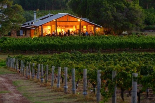 Vineyard Hotel in Margaret River near Perth, W.A.