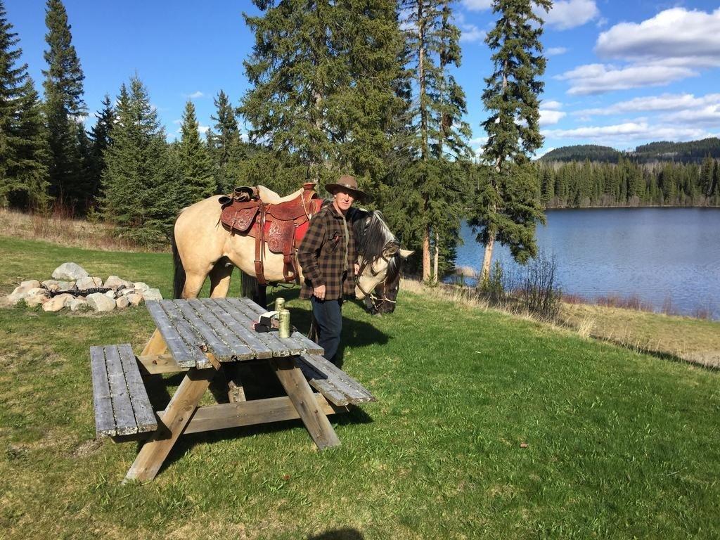 Horseback riding at Montana Hill Guest Ranch: a dude ranch near Kamploops in the Cariboo, British Columbia, Canada.