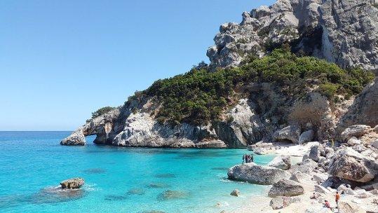 Cala Goloritzé beach in Eastern Sardinia.