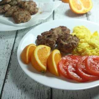 Paleo & Whole30 Breakfast Sausage