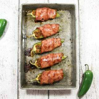 Paleo & Whole30 Jalapeño Poppers, Beefy + Creamy