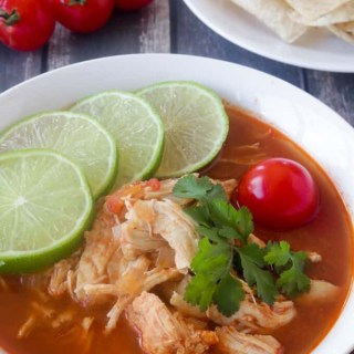 Paleo and Whole30 Chicken Tortilla Soup