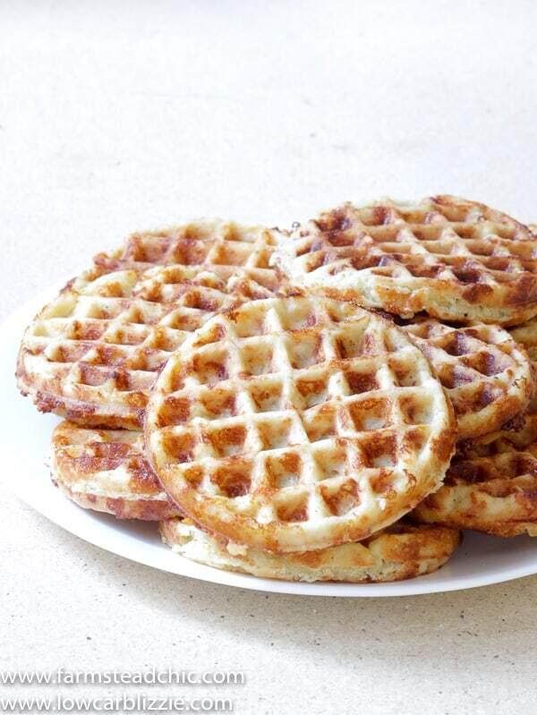 The Best Chaffle Recipe Keto Waffle Bread Farmstead Chic