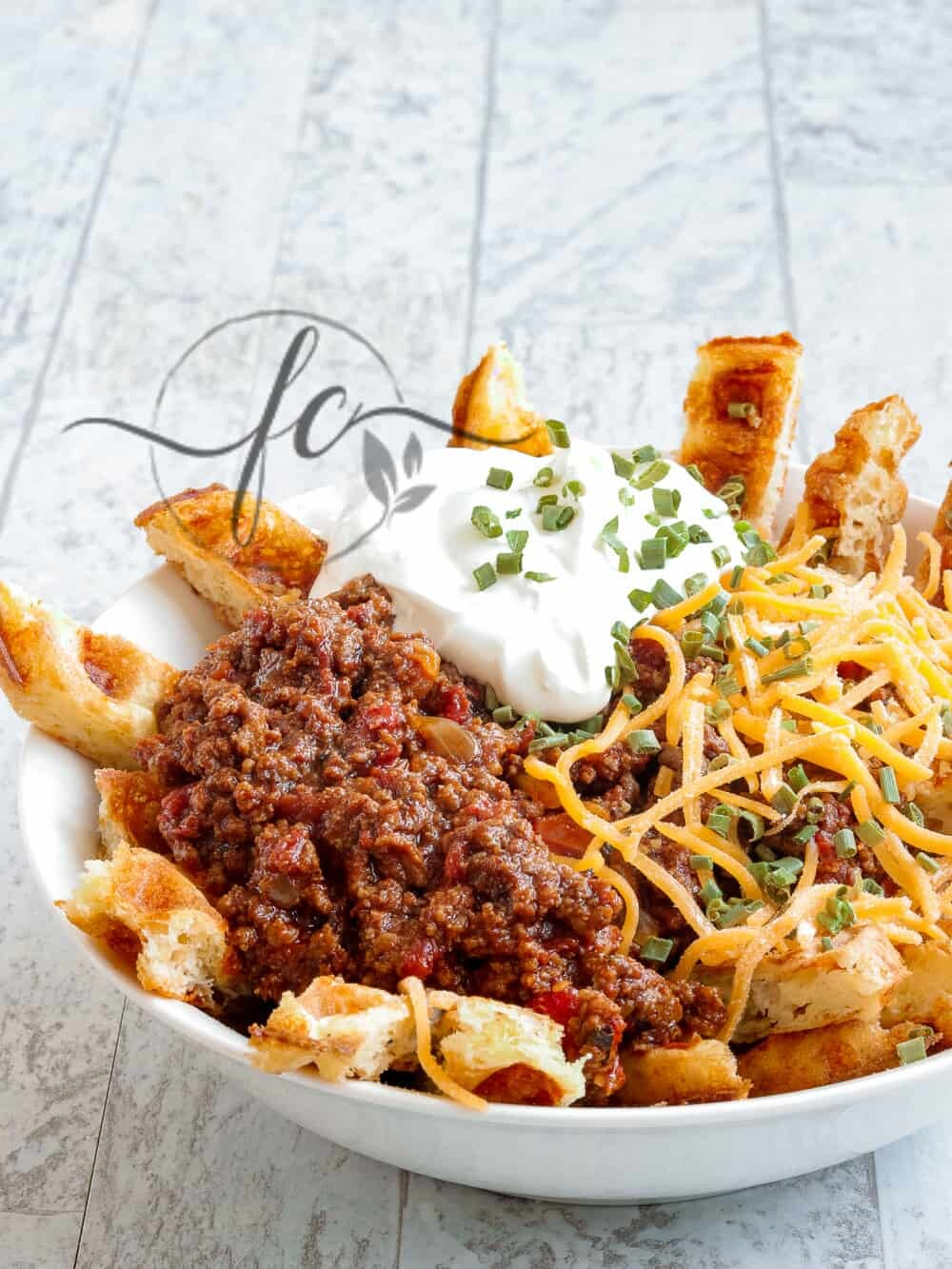 Low Carb, Keto Chili Cheese Fries