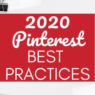 2020 Pinterest Best Practices – How to Get Compliant