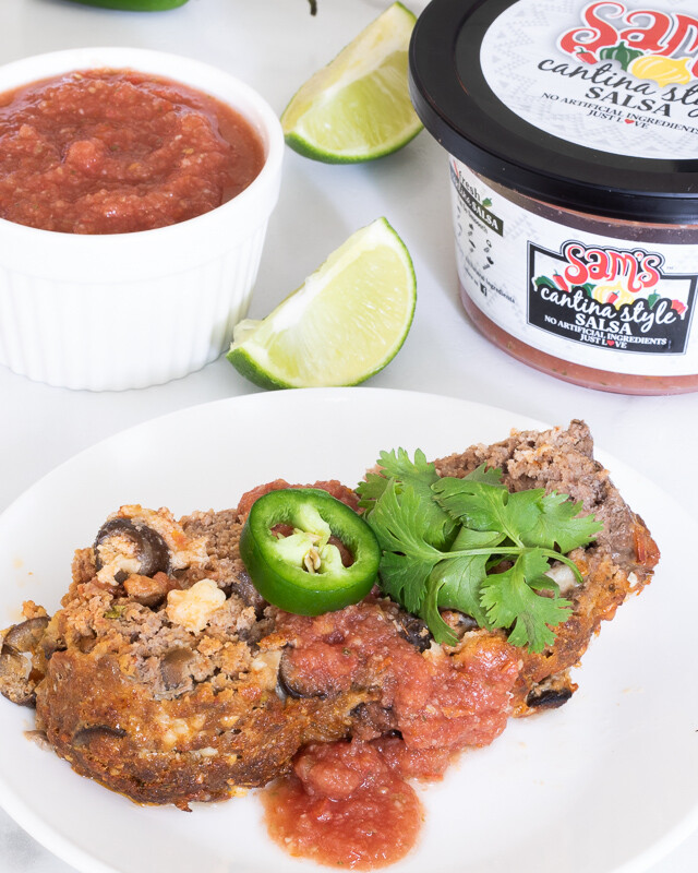 Keto Mexican Meatloaf - Low Carb Meatloaf