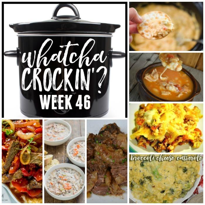 Crock Pot Chicken Wild Rice Soup- WCW 46