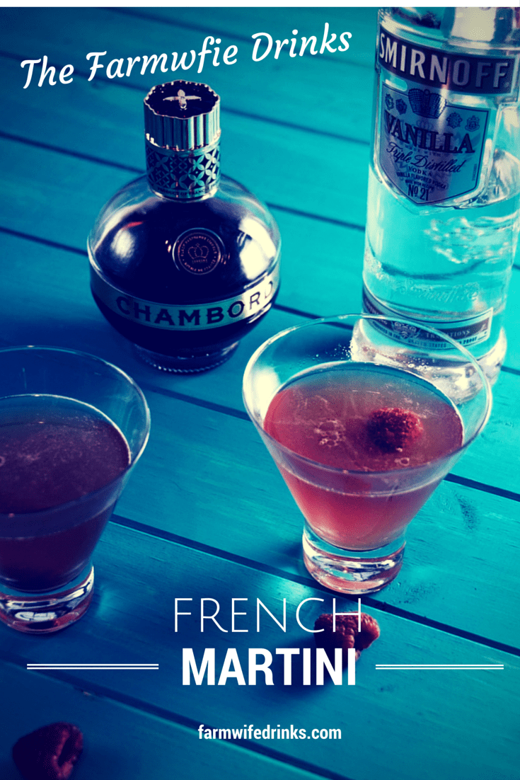 Want a drink that will make your friends all think you have fancy cocktail recipes, here is the easiest and delicious martini, the French Martini.