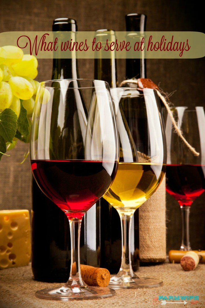 What wines to serve at the holidays. Thanksgiving and Christmas Dinner can be huge meals that are difficult to pair with wine. Here is a quick guide to help you choose crowd pleasing wines.