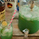 Mermaid water is the perfect rum punch.
