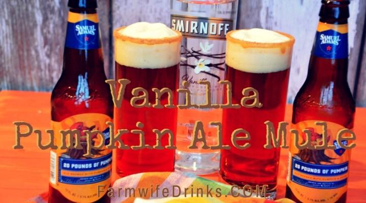 The combination of a pumpkin ale with vanilla ale in a caramel and cinnamon sugar rim was a brilliant combination. An addicting combination, to be honest, in this vanilla pumpkin ale mule.