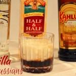 The combination of vanilla vodka and vanilla Kahula make this Vanilla White Russian recipe a perfect evening version of the morning vanilla latte.