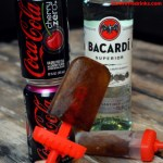 Cherry Coke and Rum popsicles are my favorite low carb summer treat with the great combination of Cherry Coke Zero and Bacardi Rum for my new go-to frozen cocktail. The bonus is this is a low-calorie, low carb frozen treat.