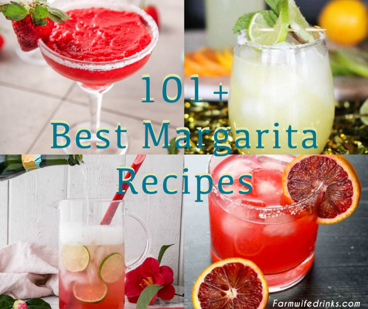 These are the best margarita recipes on the internet. If you are looking for frozen margaritas, margaritas on the rocks or unique margaritas, look no further.