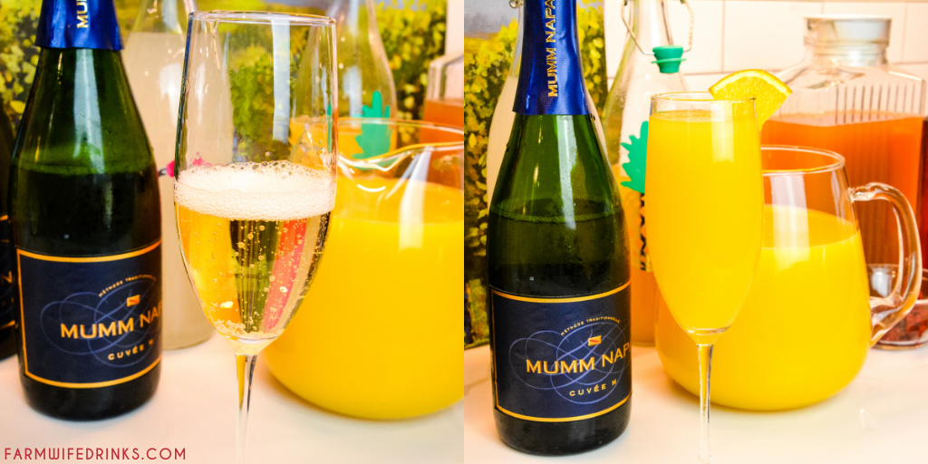 Mimosa bar ideas can include types of juices, garnishes, glasses, and even champagne, prosecco, or cava to help perfect your next brunch, shower, or holiday gathering. Learn everything you will need to know how to make a mimosa bar at your next event.