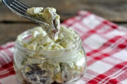 Easy Dill Potato Salad-perfect for pitch in's or a quick side for supper.