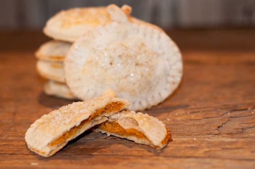 Pumpkin Hand Pies are so easy to make, cute and the perfect little treat to top off your Thanksgiving feast.