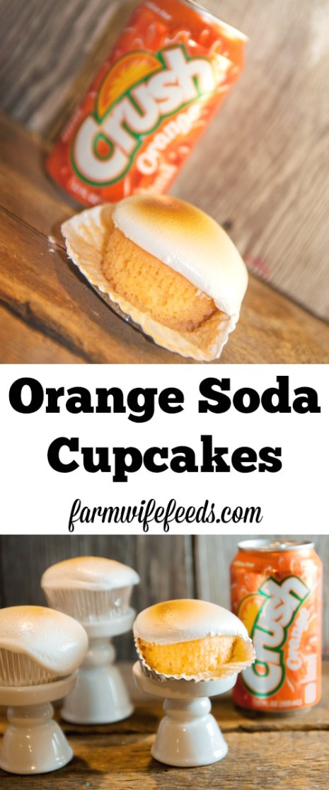Orange Soda Cupcakes have to be the easiest, quickest and most delicious thing ever!