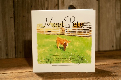 Meet Pete - A Children's Farm Book written by Farmwife Feeds, Jennifer Campbell available on Amazon! A great book to celebrate National Ag Day