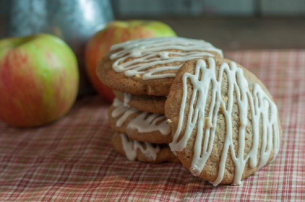 These amazing Apple Cider Cookies are the perfect Fall cookie for snack or desert! Friends and family will rave!