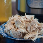 Freezer Meal Instant Pot Shredded Chicken