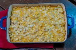 These Yum Yum Cheesy Potatoes are a family favorite side dish that pleases everyone!
