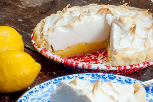Family Recipe Lemon Meringue Pie from Farmwife Feeds #recipe #lemon #pie
