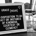 Why do we give all our grace away?