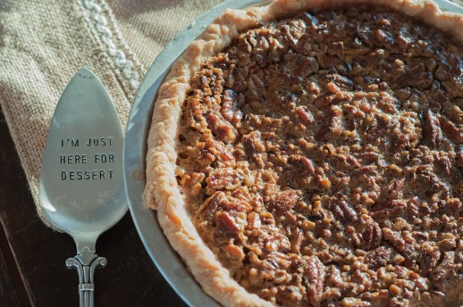 Mom's Classic Pecan Pe is a family favorite from Farmwife Feeds #pie #recipe #pecans
