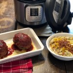 Instant Pot Meatloaf and Loaded Smashed Potatoes