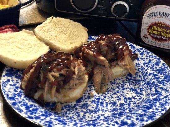 Perfect Pulled Pork from Farmwife Feeds is an easy crock pot fall apart recipe. #pork #crockpot #recipe #BBQ