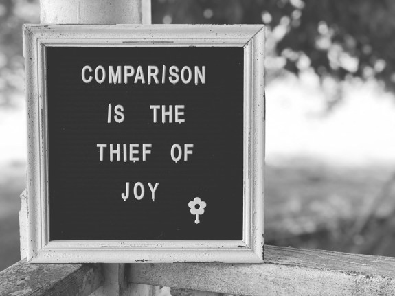 Comparison Is The Thief Of Joy - FarmwifeFeeds