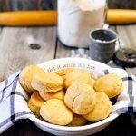 Farmhouse Lard Buttermilk Biscuits