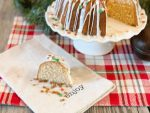 Gingerbread Rum Bundt Cake from Farmwife Feeds is a festive holiday dessert or breakfast that everyone will love. #cake #gingerbread #bundtcake #rum